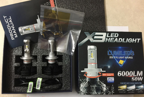 led headlight lumileds